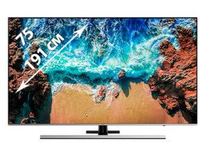 Телевизор 75 дюймов в аренду
